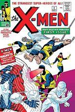 TRUE BELIEVERS X-MEN 1 REPRINTING 1963 1st SERIES UNCANNY NM