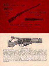 Winchester-Lee c1895 Straight Pull Rifle (Civilian) Manual