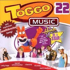 CD/ Toggo Music 22 - Voll Cool, voll Musik - 22 Toptitel !! NEU&OVP !!