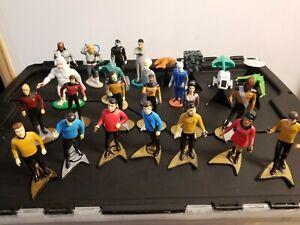 "Hamilton Collection Star Trek TOS TNG PVC 2"" Ships 4"" Figurines"