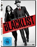 6 DVD-Box ° The Blacklist ° Staffel 4 ° NEU & OVP