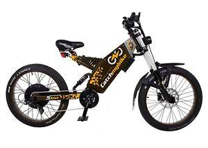 Electric Bike 48-72V, 500 - 5000W based on frame Teleport Prime 90mm, 120mm