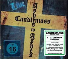 (CD + DVD) Candlemass - Ashes To Ashes - Live, Digipak, Limited Edition