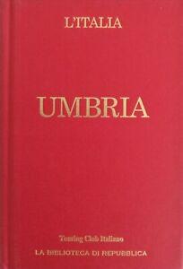 ITALIA. UMBRIA. Guida con carte geografiche. Mappe del Touring Club italiano.
