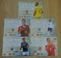 Panini Adrenalyn XL Uefa Euro EM 2020 5x Limited Edition Set aus Blaster Box
