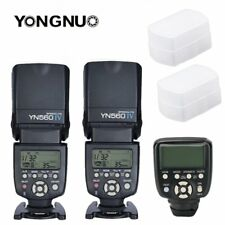Yongnuo YN560TX II LCD Wireless Flash Controller +2X YN560 IV Flash Kit Fr Canon