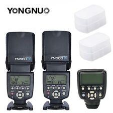 Yongnuo YN560TX II LCD Wireless Flash Controller +2X YN560 IV Flash Kit Fr Canon