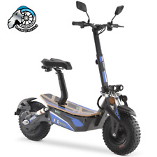 EV Ultra Electric Scooter / E - Scooter 2000W 48V / Adults  - Blue Decal