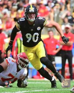 T.J. Watt Pittsburgh Steelers Authentic Licensed 8x10 Action Photo #4 FREE SHIP