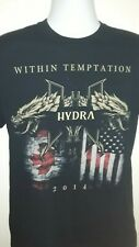 Within Temptation T Shirt Hydra Tour North America 2014 Adult M