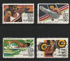 v1570 USA/ Olympia   MiNr 1622/25 F o