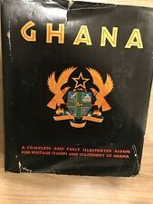 Ghana stamp collection Album, 1957 - 1967, 55 Pages In 3-ring Binders, New Stamp