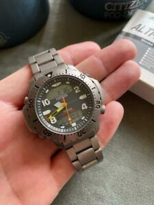 vintage Citizen C900-T004334 TITANIUM PROMASTER WATERLAND FULL SET RARE !!!!!