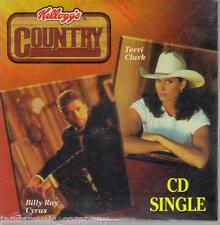 TERRI CLARK - POOR PITIFUL ME / BILLY RAY CYRUS - IT'S ALL THE SAME TO ME [CD ]