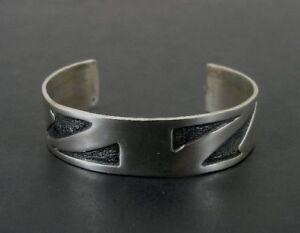 Native Design Sterling Silver 925 Cuff BRACELET