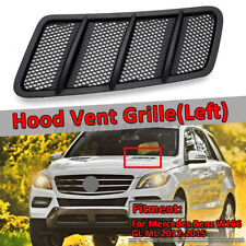 Left Driver Hood Air Vent Grille Cover Fit For Mercedes W166 ML GL Class 12-15