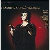 CABALLE, MONTSERRAT - VERDI RARITIES NEW CD