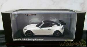 Kyosho 1/43 Minicar Toyota S-Fr Racing Concept White Pearl 9164