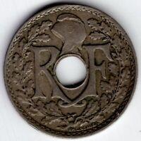 1932 FRANCE 5 CENTIMES NICE COIN