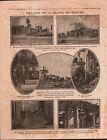 WWI Poilus Bataille de Verdun /Artillerie Portugal/Woevre Obus 1916 ILLUSTRATION