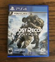Tom Clancy's Ghost Recon Breakpoint ( PlayStation 4 / PS4 )