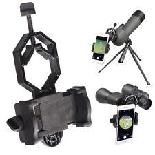 Telescope Spotting Scope Microscope Mount Holder for Phone Camera Adapter MVV