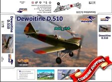 Dewoitine D.510 Spanish Civil War and Japanesse Service 1/48 Dora Wings 48008