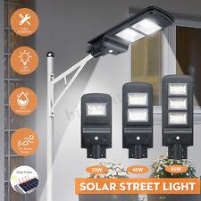 20/40/60W LED Solar PIR Motion Sensor Garden Yard Wall Outdoor Street   P □□