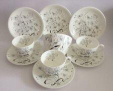 "Wedgwood ""Wild Oats 'Cups Saucers plates Trio X 3 + Sugar Bowl"