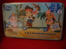 Disney 3-in-1 Panorama Puzzle 3 Pack Jake and the Neverland Pirates