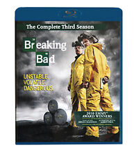 Breaking Bad : Season 3 (Blu-ray, 2011, 3-Disc Set)