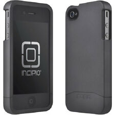 Incipio EDGE Hard Shell Slider 2-Part Case for iPhone 4/4S Matte Black NEW BULK