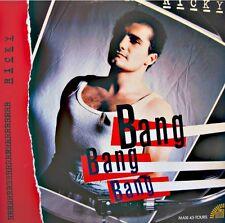 ++RICKY bang bang bang/who's on the phone MAXI PROMO 1986 A&M EX++