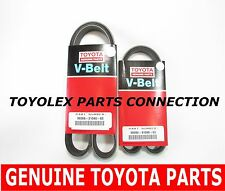 FACTORY NEW GENUINE TOYOTA/LEXUS V6 ORIGINAL DRIVE BELT SET CAMRY SIENNA RX ES