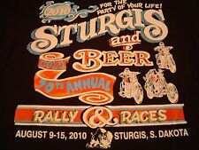 Vintage 2010 STURGIS RALLY T-Shirt Size M/Harley-Davidson/NEW/UNWORN DEADSTOCK!
