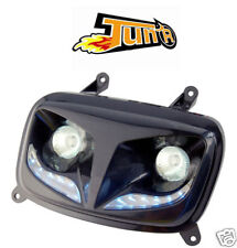 Optique TUN'R phare MBK Booster Spirit 2004 YAMAHA Bws Bw's Phase 2 leds noir