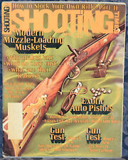 Magazine SHOOTING TIMES, April 1974 !!! WALTHER GSP .22/.32 Target PISTOL !!!