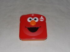 Sesame Street Elmo Sandwich Container Holder Back to School Lunch Box New