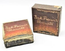 Two Vintage Sweet Assorted Peek Frean Litho Paper Tin Box London