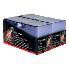 (200 Count) COMBO PACK Ultra Pro Regular Toploader and Trading Card Sleeves