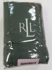 Nwt Ralph Lauren University Tate Green Standard Pillow Sham