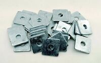 (10) Galvanized 3/4 x 2-3/4 Square Plate Washers 5/16 Thick