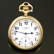 Hamilton 999 Ball Railroad Pocket Watch Ca1922 | 16 Size, 23 Jewel