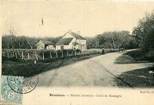 Carte BRACIEUX Maison Forestière Forêt de Boulogne