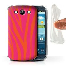 STUFF4 Gel/TPU Phone Case for Samsung Galaxy S Smartphone/Modern Vibrant/Cover
