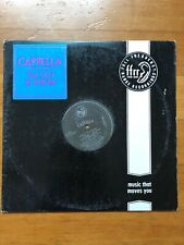 "Cappella U Got 2 Know~1992 Euro House Electronic 12"" Single Vinyl LP~FAST SHIP!"