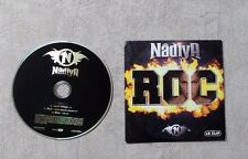 "CD AUDIO MUSIQUE / NÂDYA ""ROC"" 3T + 1 VIDÉO CD SINGLE 2006 CARDSLEEVE"