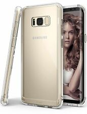 Samsung Galaxy S8 Plus Case Crystal Clear Cover Drop Protective Back TPU Bumper