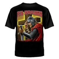 T-SHIRT RUSSLAND MOSKOW RUSSIAN RITTER RUSSISCHE ARMY ARMEE MOSKAU РУСЬ
