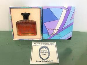 Emilio Pucci Vivara Vtg Parfum Perfume 1 Oz France New in Orig Signature Box